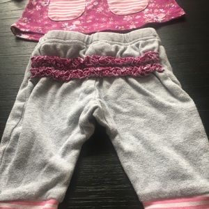Laura Ashley baby girl 2 piece like new